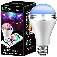 LE Lampadina LED Intelligente Bluetooth E27 7W,
