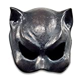 Halloween Karneval Party Kostüm Catwoman Maske aus Latex