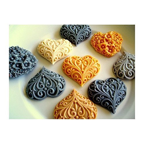 heart-mold-23sugarcraft-moulds-polymer-clay-cake-border-mould-soap-molds-resin-candy-chocolate-cake-