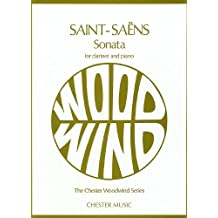 Camille Saint-Saens: Sonata For Clarinet And Piano Op.167 (Chester Woodwind Series of Graded Pieces)