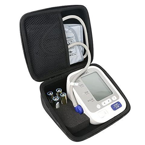 Khanka EVA Hart Reise Tragetasche Tasche Für Omron M400 IT M400IT Oberarm-Blutdruckmessgerät