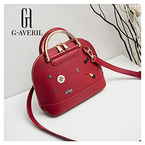G-AVERIL, Borsa a zainetto donna Rosa Pink Red