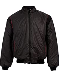 MEN'S PADDED BOMBER JACKET 80'S STYLE POLY COTTON OUTER WITH PADDED LINING INSIDE