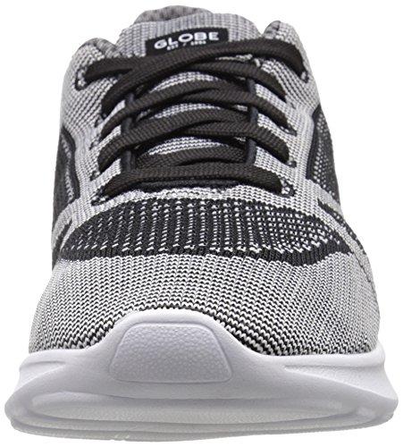 Globe Avante Hommes Toile Chaussure de Basket Gray-Black