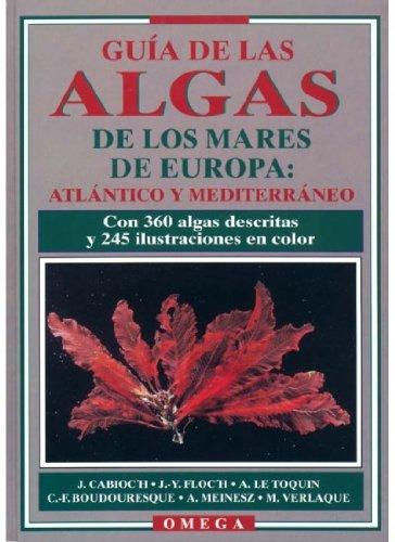 Guía de las algas del Atlántico y del Mediterráneo por Jacqueline Cabioc'h
