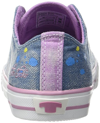 Tom Tailor 2772902, Baskets Basses Fille Bleu (blue)