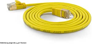 wantecWire 7203/Ultra Slim Patch Cable with Black//