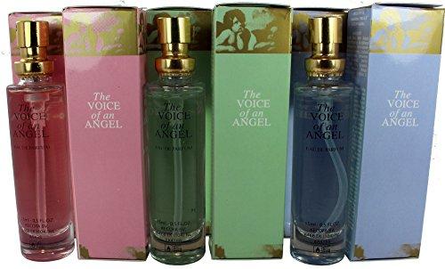 Set de 6 (seis) Perfumes de Primera Calidad . 15 ml Cada uno en botella de lujo con caja y atomizador 3 fragancias concentradas.