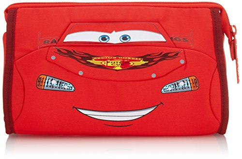 Disney Ultimate Pre-School Cars Bolsa de Aseo, 2.5 litros, Color Rojo