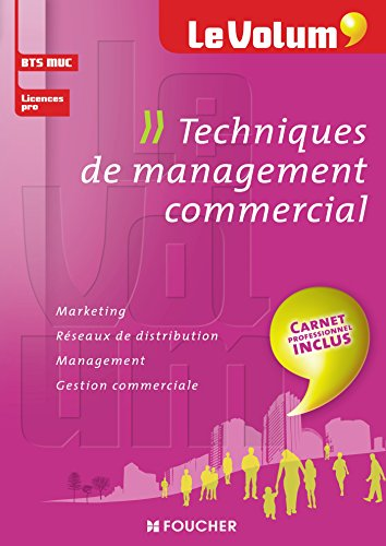 Techniques de management commercial - Le Volum' - Nº12