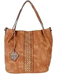 Fur Jaden Women's Handbag(Brown,H296_Tan)