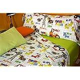 Juego de sábanas Animales FARM (para cama de 90x190/200)