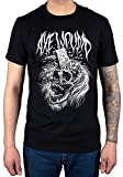 Official Axewound Skull T-Shirt Band Music British Canadian