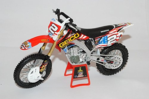 honda-crf450r-racing-2010-geico-powersports-canard-rot-enduro-1-12-new-ray-modell-motorrad-modell-au