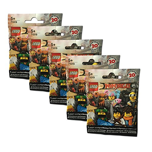 Preisvergleich Produktbild The Lego NINJAGO Movie 5er Set 71019 Minifigures