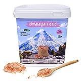 Nortembio Sal Rosa del Himalaya 6,5 Kg. Gruesa (2-5 mm). 100% Naturales. Sin Refinar. Sin Conservantes. Extraídas a Mano