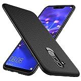 GeeMai Huawei Mate 20 Lite Hülle, [Schwarz Soft Hülle] Ultra Thin Silikon Schutzhülle Tasche Soft TPU Hüllen Handyhülle für Huawei Mate 20 Lite Smartphone
