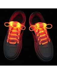 Paire de Lacets Lumineux Clignotants et Equipés de LED