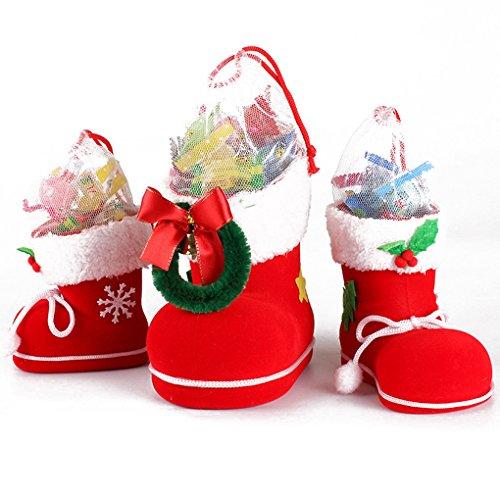 Decorazioni natalizie Regali per bambini Regali di caramella Regalo Babbo Natale
