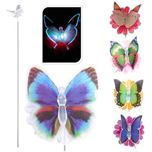 PROGARDEN Papillon Lumineux à Couleur Changeante