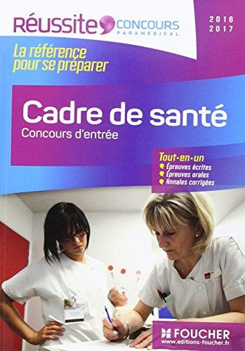 Cadre de santé - Concours d'entrée - Concour...