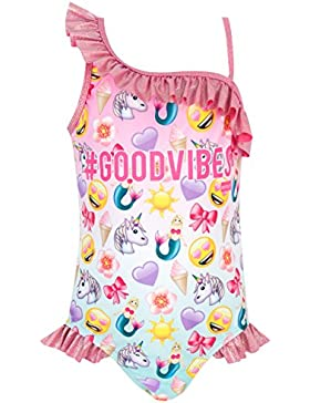 Emoji Mädchen Emoji Badeanzug