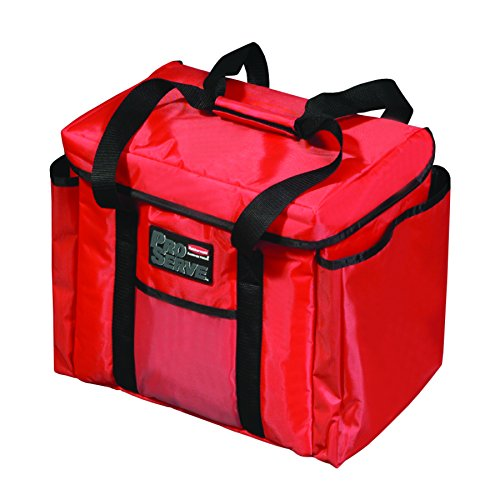 Rubbermaid FG9F4000RED Professional Food Delivery Bag (Pack of 4)