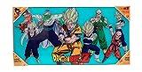 SD toys Z Heroes Poster De Vidrio Dragon Ball 60 x 30 Cm, SDTDRB22026