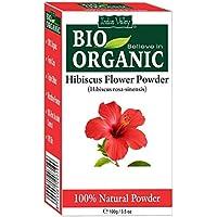 Polvo orgánico puro de la flor del hibisco del 100% con el libro libre 100g