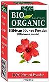 Poudre de fleur d'Hibiscus organique pure de 100% avec le livre de recettes gratuit...