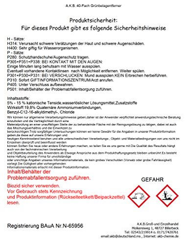 A.K.B. Grünbelagentferner (5L) - 2