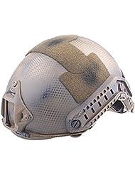 Worldshopping4U Tactical Ajustable Combate Militar del Ejército de MH tipo Fast–Casco de protección (Navy Seal–) para deportes de Airsoft Paintball Caza CQB Tiro Gear, color  - Navy Seal, tamaño L / XL