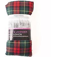 Hitze Tartan Weizen Tasche | grün mit gelb rot Streifen preisvergleich bei billige-tabletten.eu