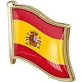LAVALINK La Solapa De La Bandera De España 1pc Pin De La Solapa del Esmalte del Metal De La Broche De La Bandera Española Reg