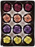 Günthart Essbare große Feinzucker Rosen in unterschiedlichen Farben, farbig sortiert, 1er Pack (1 x 440 g)