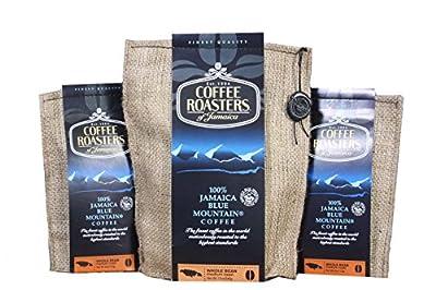 Blue Mountain Coffee 100% Jamaica Roasted Whole Beans by Coffee Roasters by Coffee Roasters of Jamaica
