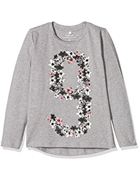 NAME IT Mädchen Langarmshirt Nmfdanassi LS Top