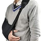 LQBZG- Verstellbare Armschlaufe mit Bauch- und Schultergurten, für die Wiederherstellung von Verletzungen, Größe Links und rechts, Armstütze für Männer und Frauen, Unisex