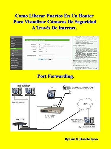 Como Liberar Puertos En Un Router Para Visualizar Cámaras De Seguridad A Través De Internet.: Port Forwarding por Luis V. Duarte