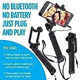 NM Perche Selfie Téléscopique Extensible Autoportrait Télécommande pour Samsung Galaxy Trend Lite S7390