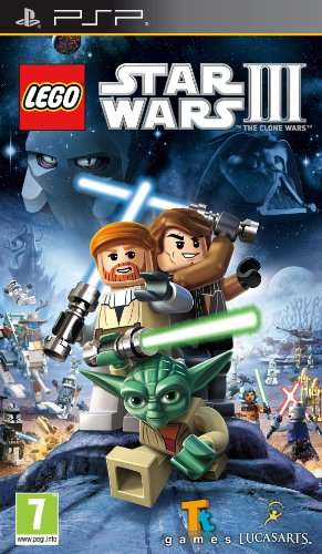 Lego Star Wars III: The Clone Wars (Sony PSP) [Import UK]