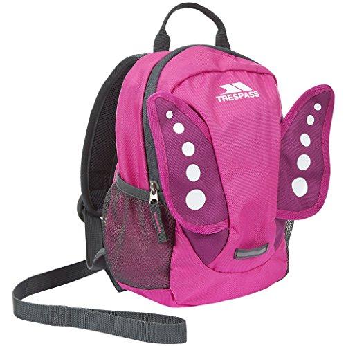Trespass Kids Tiddler Rucksack - Bright Pink, 3 L