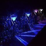 Spritech (TM) claro Diamantes Solar LED al aire libre iluminación Ideal para Ruta Patio cubierta entrada y jardín