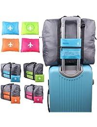 Trexee Travel Bag Waterproof Foldable Water Proof Nylon Travel Bag Unisex Luggage Travel Duffel Large Capacity Bag kit TravelBag/Luggage/Duffle