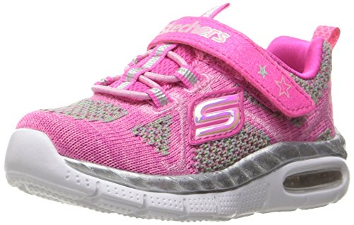 Skechers Air Appeal Breezy Baby, Sneakers Basses Fille, Rose (Hplp), 25 EU