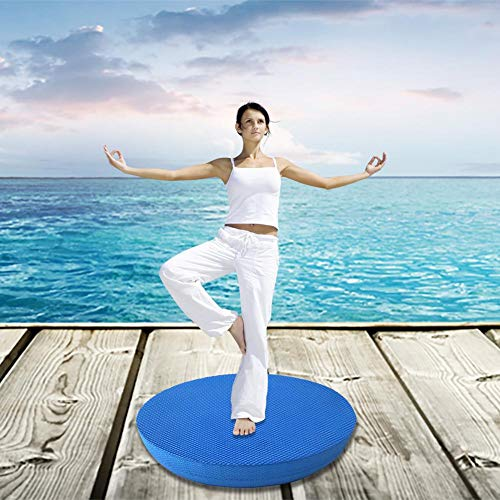 Ausomely Balance Pad Balancekissen Koordinationsmatte für Physiotherapie, Pilates, Yoga,Core Stabilität/Stärke Training, Bewegung Rehabilitation-Soft Komfortable