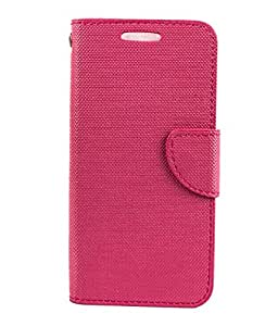 STYLE CASE FLIP COVER FOR LENOVO A2010-PINK