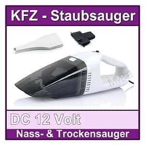 12V Handstaubsauger Autostaubsauger Nass & Trocken Handsauger Dustbuster Beutellos