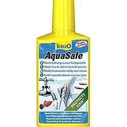 Tetra Aquasafe, Purificador de agua para peces de acuario, 250 ml