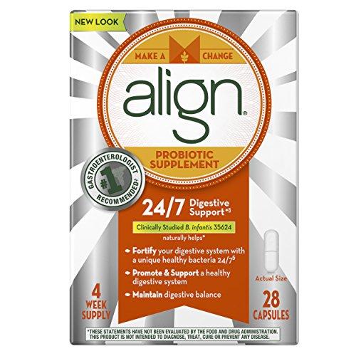 Align - Er B. Infantis 35624 Supplément Probiotique 28 Count